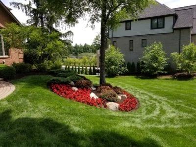 Landscape Flower Bed